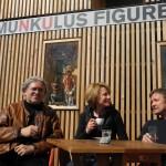 Corinna Harfouch und Holger Teschke zu Gast im Homunkulus; 2015