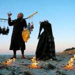 Inspiration am Meer: Karl Huck bei der Arbeit an Shakespeares STURM (März 2014)