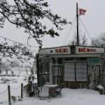 Winterstimmung an der Seebühne
