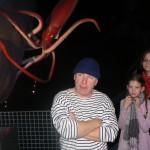 """Dreharbeiten mit Jörg Schüttauf zu """"Baby Dronte"""" im Ozeaneum Stralsund; 2010"""