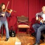 Gastspiel mit Gabriele Kienast und Norbert Leisegung (Keimzeit)