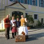 Gastspiel im Weingut Karl Friedrich Aust; Radebeul; 2007